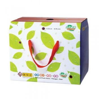 六入禮盒空盒(內附上下格板及底板)