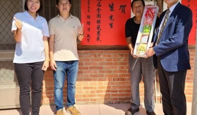 聯合報 堅持有機打進好市多 陳稼莊果園主人獲全國模範農民