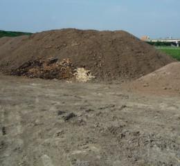 有機肥堆肥場