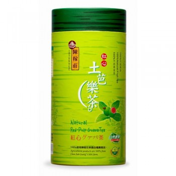 紅心土芭樂茶--[紙罐]  Red-Pulp Guava Tea--[Paper Can Packing]